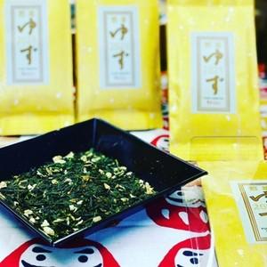 新年柚子緑茶